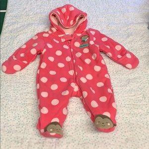 Carter's fleece bodysuit